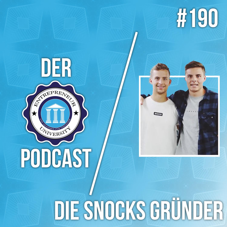 #190 - Die Gründer von SNOCKS - Vom Sneaker Reseller zum erfoglreichen StartUp